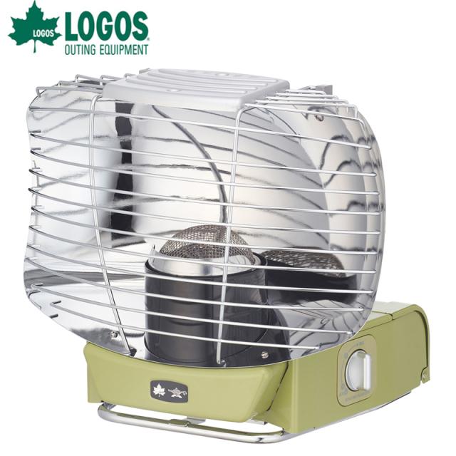 ロゴス logos LOGOS×SENGOKU ALADDIN ポータブル ガス ストーブ シルバークイーン  81060035 復刻した反射式ストーブ 収納袋付 暖房器具 冬キャンプ アラジン