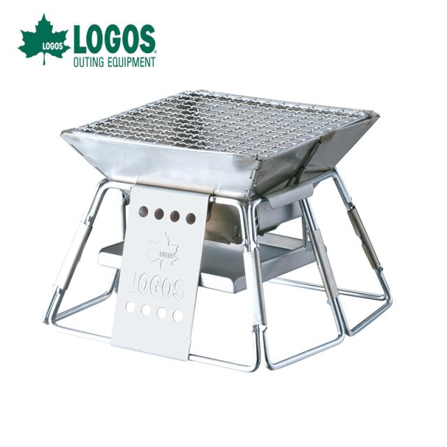 ロゴス logos LOGOS ピラミッドグリル・コンパクト 81063112 焚き火 お手軽炭火焼グリル キャンプ用グリル アウトドア バーベキュー  キャンプ用品 コンパクトグリル