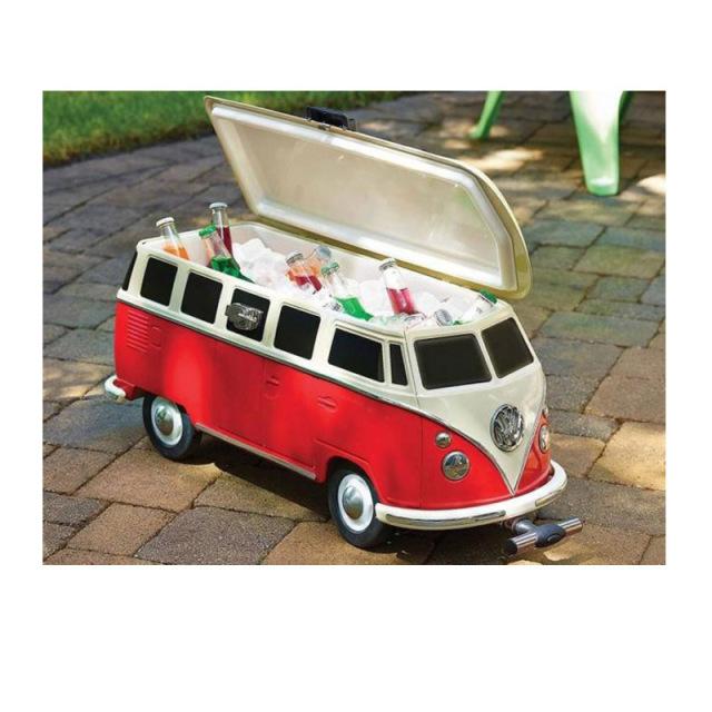 VW T1バス型 クーラーボックス 公式ライセンス商品 キャンプBBQ アウトドア 行楽 公園