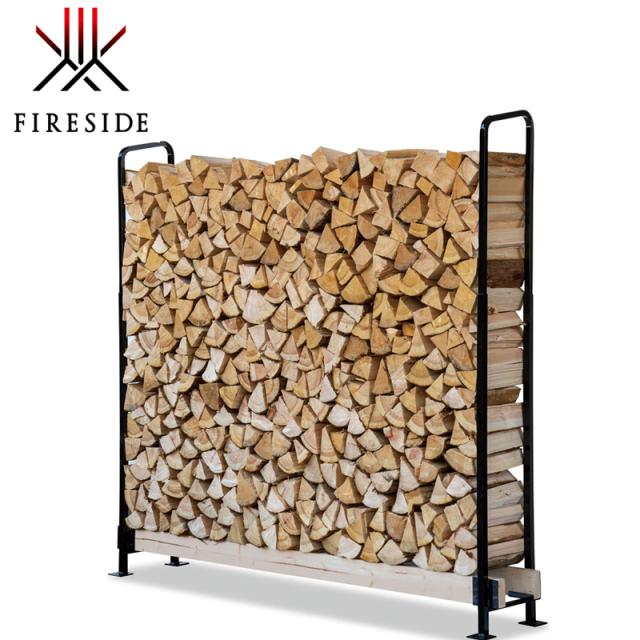 どこでも薪小屋 高さが調整ができるスライドタイプ ファイヤーサイド 2×4ログラック40cm薪用(スライド)Y047 日本製