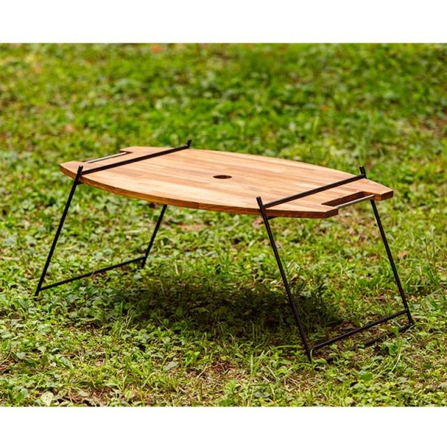 アウトドア ラック テーブル iron lack Btype 鉄製レッグ キャンプ BBQ ガーデニング 庭 オシャレ