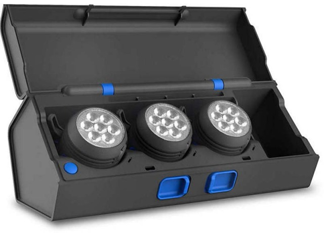 PHILIPS LEDライト LPL443MODX1 ワークライト 2段階の明るさ 複数方向に照射 モジュール式 作業 色認識 充電式 塗装 研磨作業