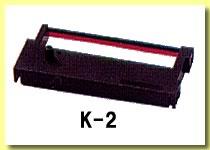 ニッポー タイムレコーダーリボン K-2