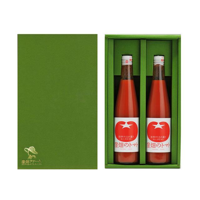 【オリジナルギフト】完熟トマトジュース500ml×2本セット ★贈物や旬のギフトなどにもご利用ください★
