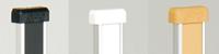 MWフラッシュ棚柱用 エンドキャップ(重量用)