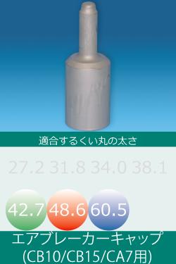 エアブレーカー用キャップ(26φシャンク)