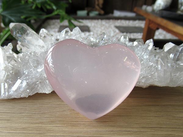 ローズクォーツ ハート 紅水晶 通販 天然石専門店販売