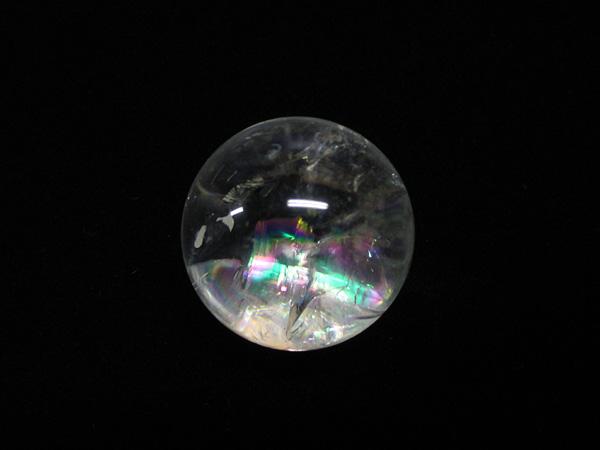 レインボークォーツ アイリスクォーツ 水晶 丸玉 販売 通販