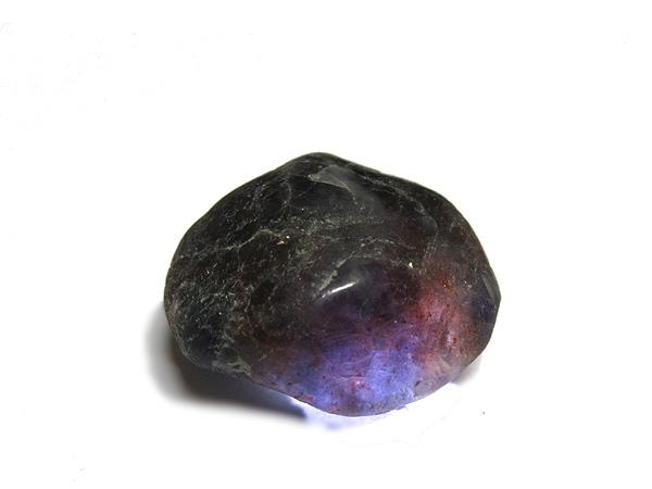 ブラッドショットアイオライト ポリッシュ 希少 天然石専門店 販売