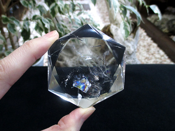 高品質天然水晶 ヘキサグラム(六芒星/ダビデの星) 天然石専門店/鬮石