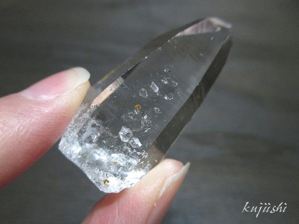 コロンビア産 レムリアンシードクリスタル 高品質 水晶 原石【鬮石】2017CL-026