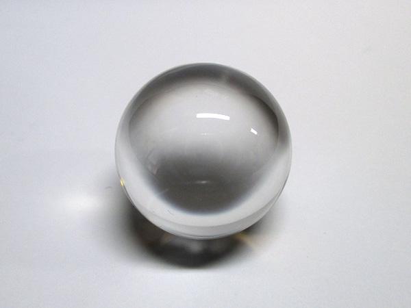 【高品質】 天然水晶 丸玉 約22mm 透明 天然石専門店 【鬮石】