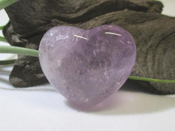 アメジスト天然紫水晶ハート