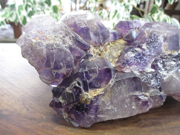 アメジストエレスチャル 原石 紫水晶 天然石専門店 販売