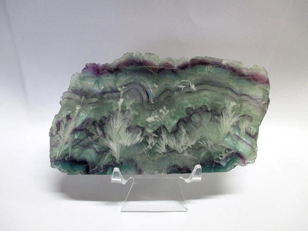 エンジェルフェザーフローライト 高品質 原石スライス 販売/鬮石