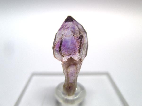 希少 アメジストエレスチャル セプタークォーツ 原石 結晶 紫水晶 天然石専門店 販売 インド産