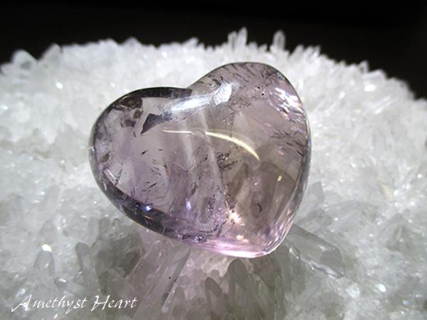 高品質 アメジストハート 紫水晶 販売 通販 天然石専門店/鬮石