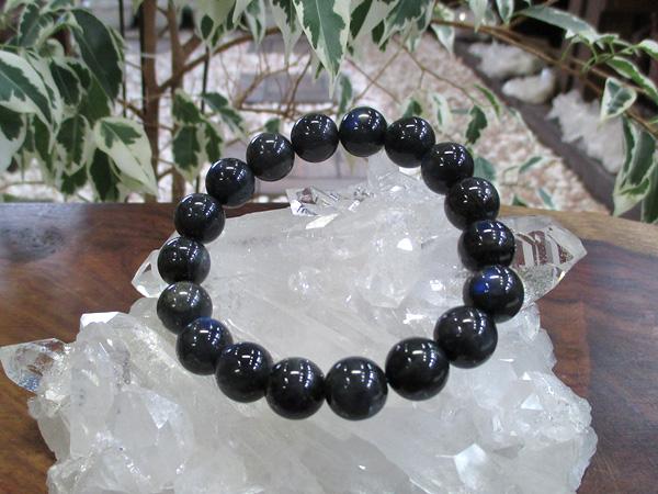 ブラックラブラドライトブレスレット 天然石アクセサリーの通販 販売専門店 鬮石