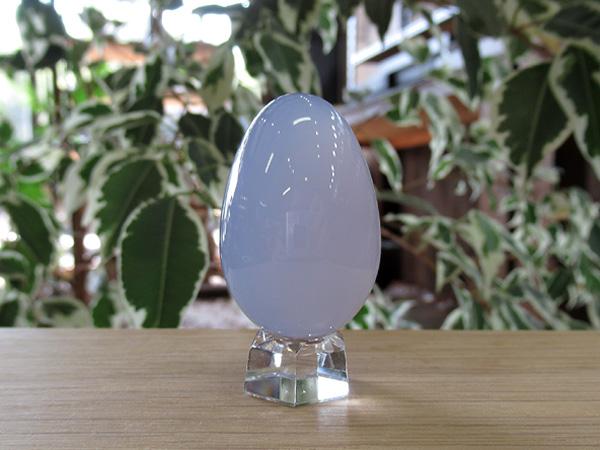 ブルーカルセドニー 卵型 エッグ トルコ産 通販 天然石販売専門店