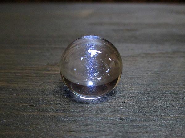 ブルースタークォーツ天然水晶丸玉