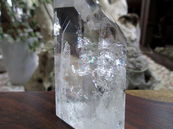 ファントムクォーツ 水晶 ポイント 天然石専門店 販売【鬮石】