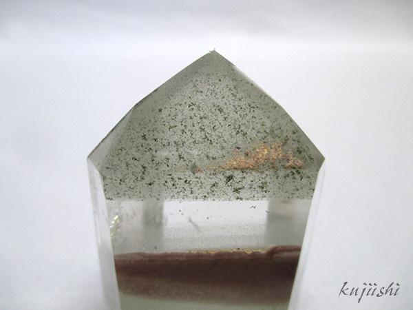 ガーデンファントムクォーツ 水晶 ポイント 天然石専門店 【鬮石】