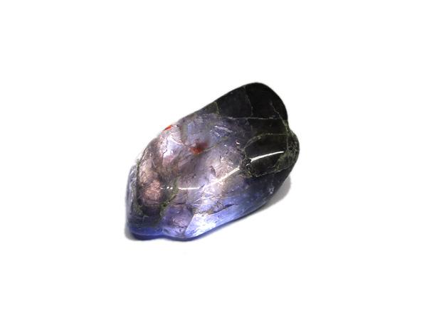 ブラッドショットアイオライト 原石 ポリッシュ