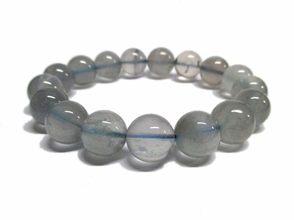 ブルーアンフィボールインクォーツブレスレット 青針水晶 販売/鬮石