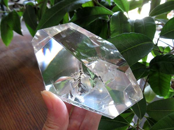 天然水晶 ポリッシュ ブラジル産