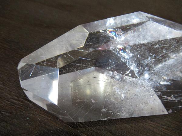 ルチルクォーツ 水晶 ポリッシュ ブラジル産