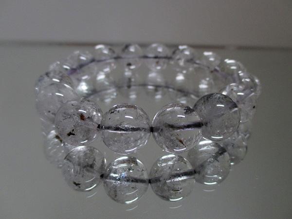 エレスチャルクォーツ水晶ブレスレット