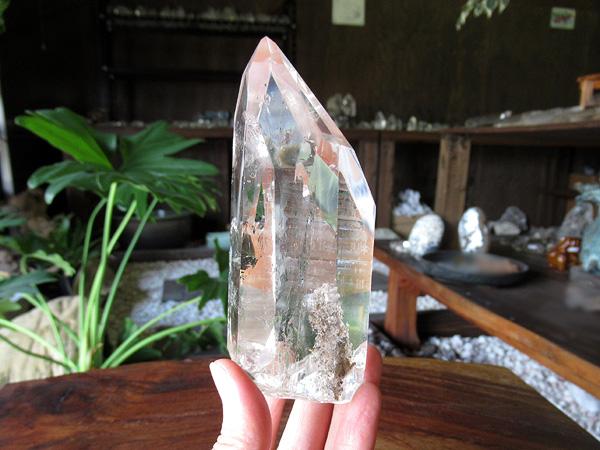 レムリアンシードクリスタル ゴイアス州産 水晶 原石 ポリッシュ