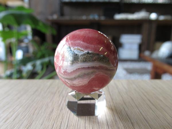 インカローズ(ロードクロサイト) 丸玉 通販/販売 天然石専門店