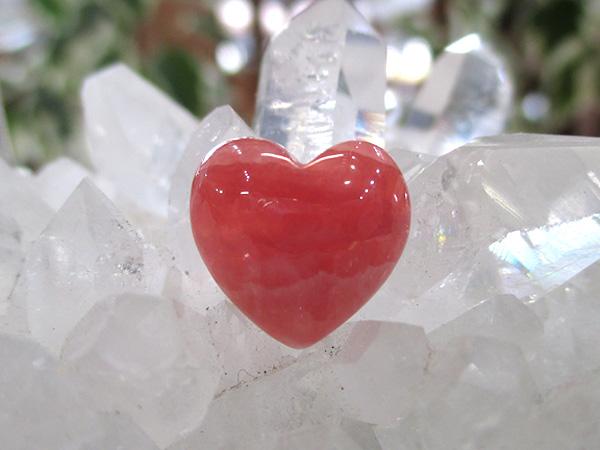 インカローズのハート型ルース/タンブル/通販/販売 | 天然石専門店【鬮石】