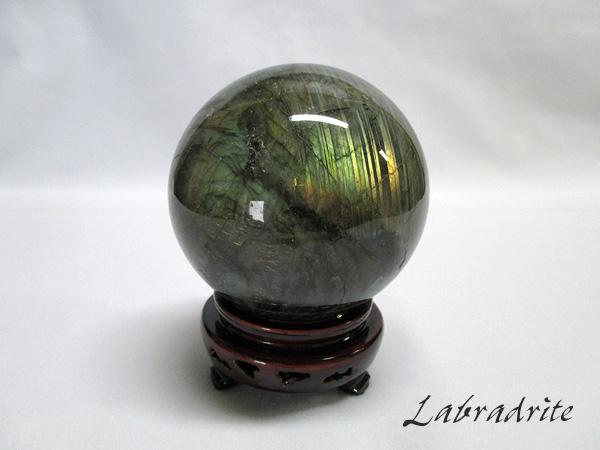 天然石ラブラドライト丸玉