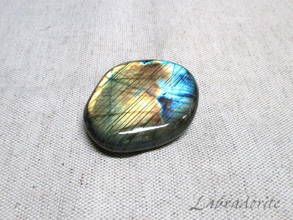ラブラドライト原石ポリッシュ(磨き)天然石