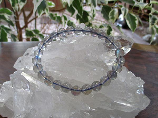 ラブラドライトブレスレット 約7mm 高品質 天然石専門店 販売/鬮石
