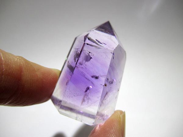 マダガスカル産 アメジストエレスチャル ポイント 販売 天然石専門店