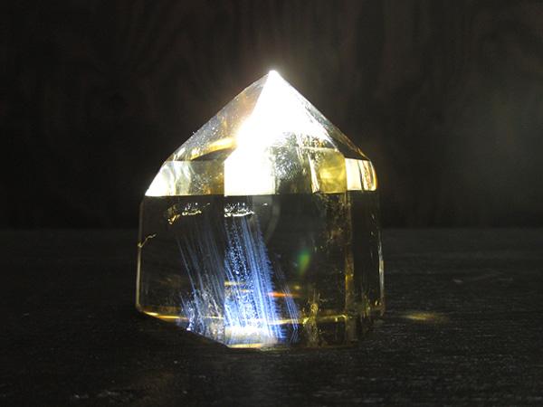 天然シトリン エンジェルラダー マダガスカル産 水晶 ポイント 天然石専門店【鬮石】