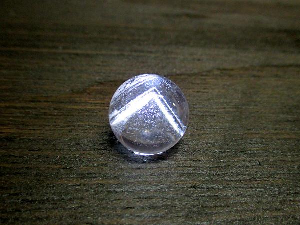 ファントムクォーツ水晶丸玉