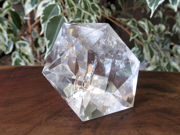 ヘキサグラム(六芒星) ブリリアントカット 天然水晶 販売 天然石専門店