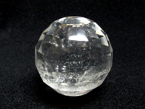 ミラーボールカット水晶 丸玉   天然石専門店【鬮石】