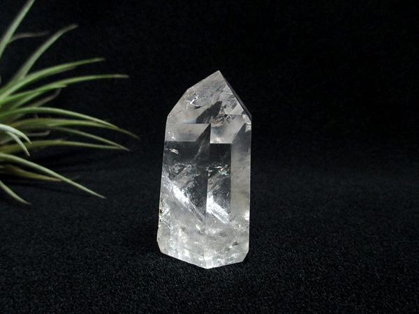 クォーツインクォーツ 貫入水晶 ポリッシュ 原石