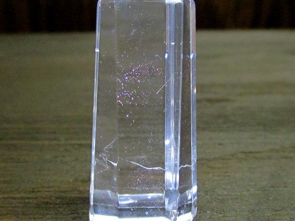 レッドゴールドエンジェルラダーファントムクリスタル(ハイダウェイクォーツ)水晶ポイント