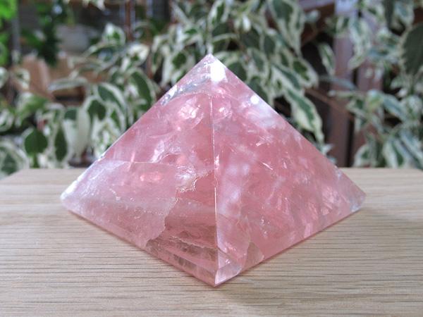 ローズクォーツ ピラミッド 紅水晶 通販 天然石専門店販売