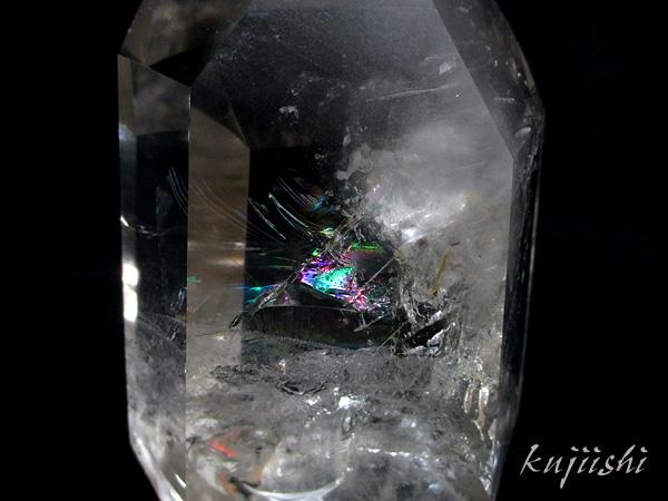 天然水晶 レインボークォーツ ポイント 天然石専門店【鬮石】