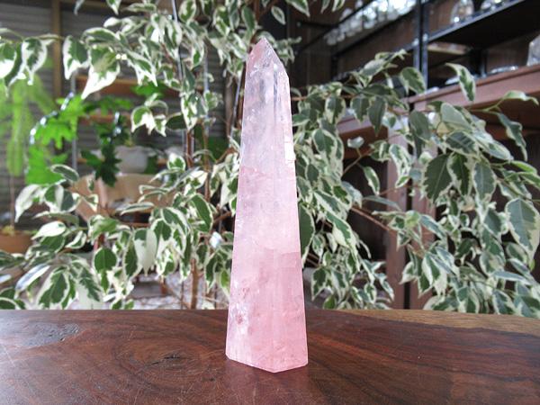 ローズクォーツ ポイント 紅水晶 通販 天然石専門店販売