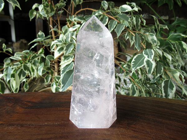 ローズクォーツ ポイント ポリッシュ 紅水晶 通販 天然石専門店販売