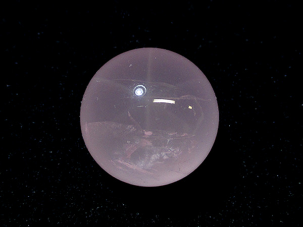 【高品質】スターローズクォーツ 水晶 丸玉 天然石専門店 【鬮石】