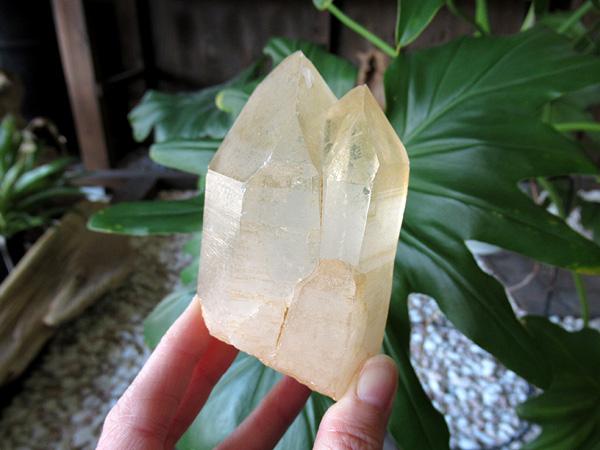タンジェリーナクォーツ 水晶 原石 ブラジル産